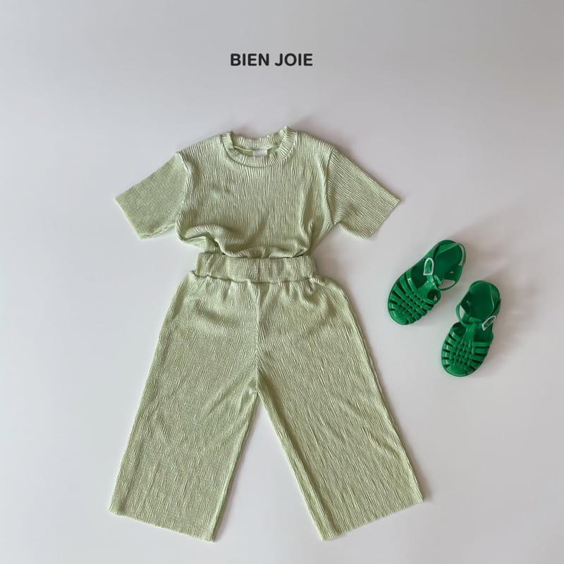 BIEN JOIE - Korean Children Fashion - #Kfashion4kids - El Top Bottom Set - 9