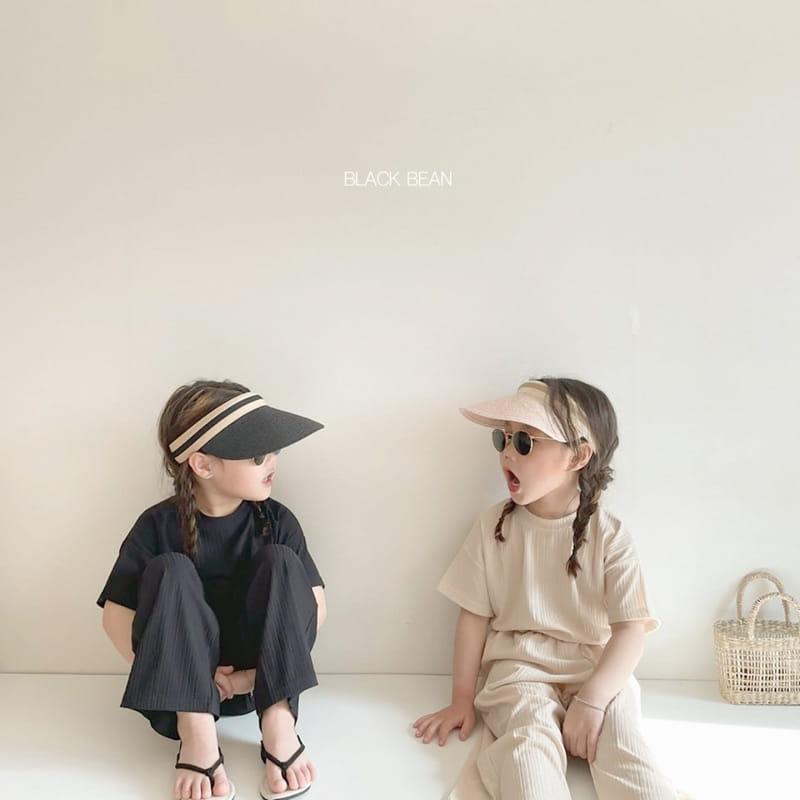BLACK BEAN - Korean Children Fashion - #Kfashion4kids - Mom Cool Top Bottom Set - 11