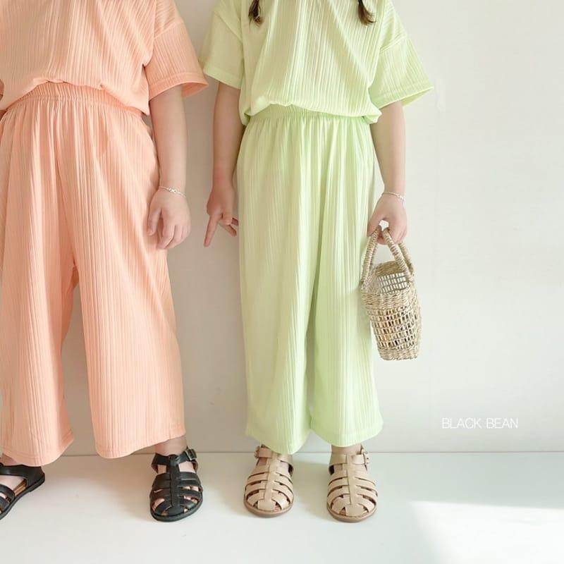 BLACK BEAN - Korean Children Fashion - #Kfashion4kids - Mom Cool Top Bottom Set - 9