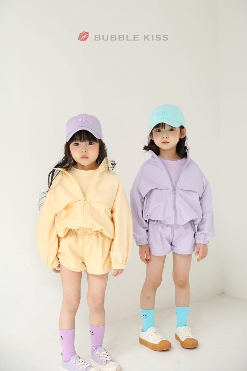 BUBBLE KISS - Korean Children Fashion - #Kfashion4kids - Anorak Pudding Shorts - 10