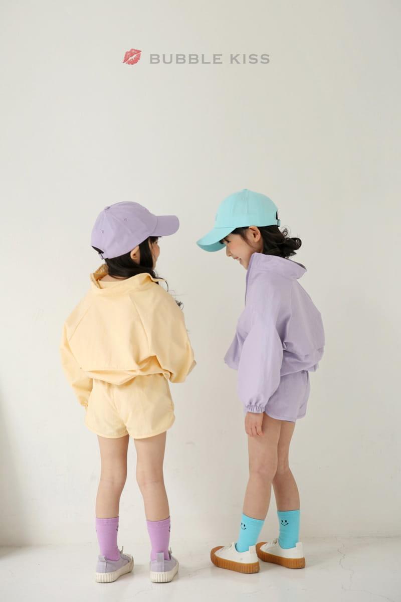 BUBBLE KISS - Korean Children Fashion - #Kfashion4kids - Anorak Pudding Shorts - 12