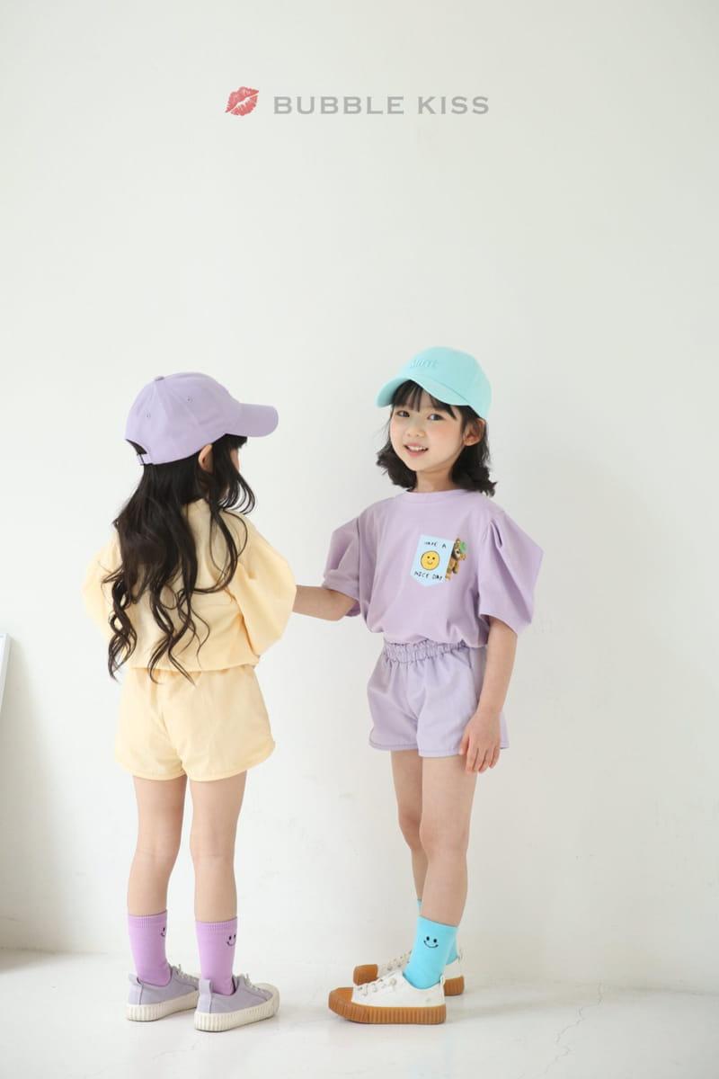BUBBLE KISS - Korean Children Fashion - #Kfashion4kids - Anorak Pudding Shorts - 6