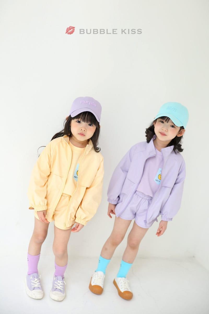BUBBLE KISS - Korean Children Fashion - #Kfashion4kids - Anorak Pudding Shorts - 8