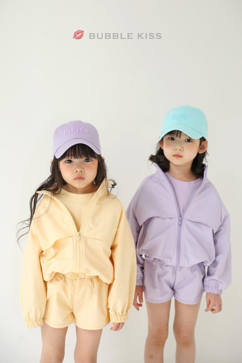 BUBBLE KISS - Korean Children Fashion - #Kfashion4kids - Anorak Pudding Shorts - 9