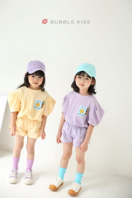 BUBBLE KISS - BRAND - Korean Children Fashion - #Kfashion4kids - Anorak Pudding Shorts