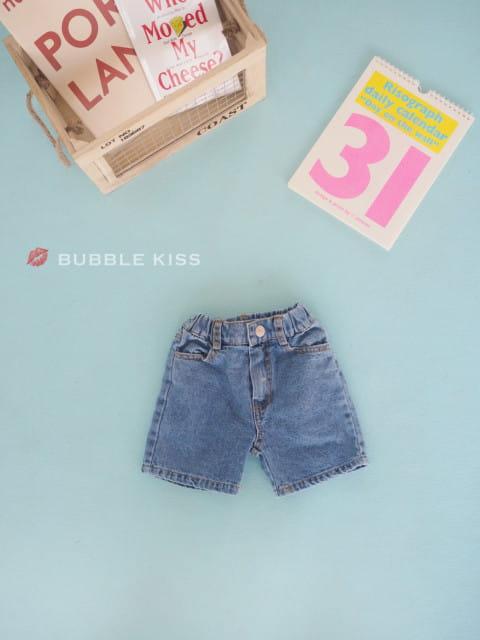 BUBBLE KISS - BRAND - Korean Children Fashion - #Kfashion4kids - Smile Shorts