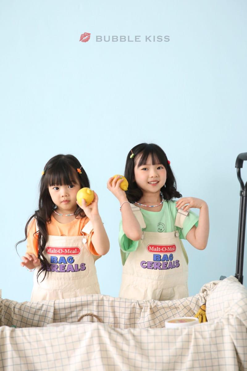 BUBBLE KISS - Korean Children Fashion - #Kfashion4kids - Cereal Dungarees Pants - 11
