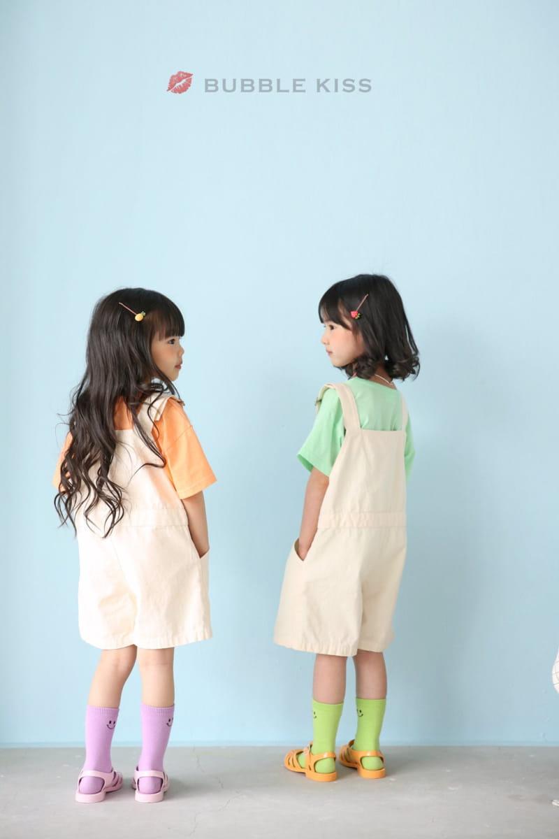 BUBBLE KISS - Korean Children Fashion - #Kfashion4kids - Cereal Dungarees Pants - 7