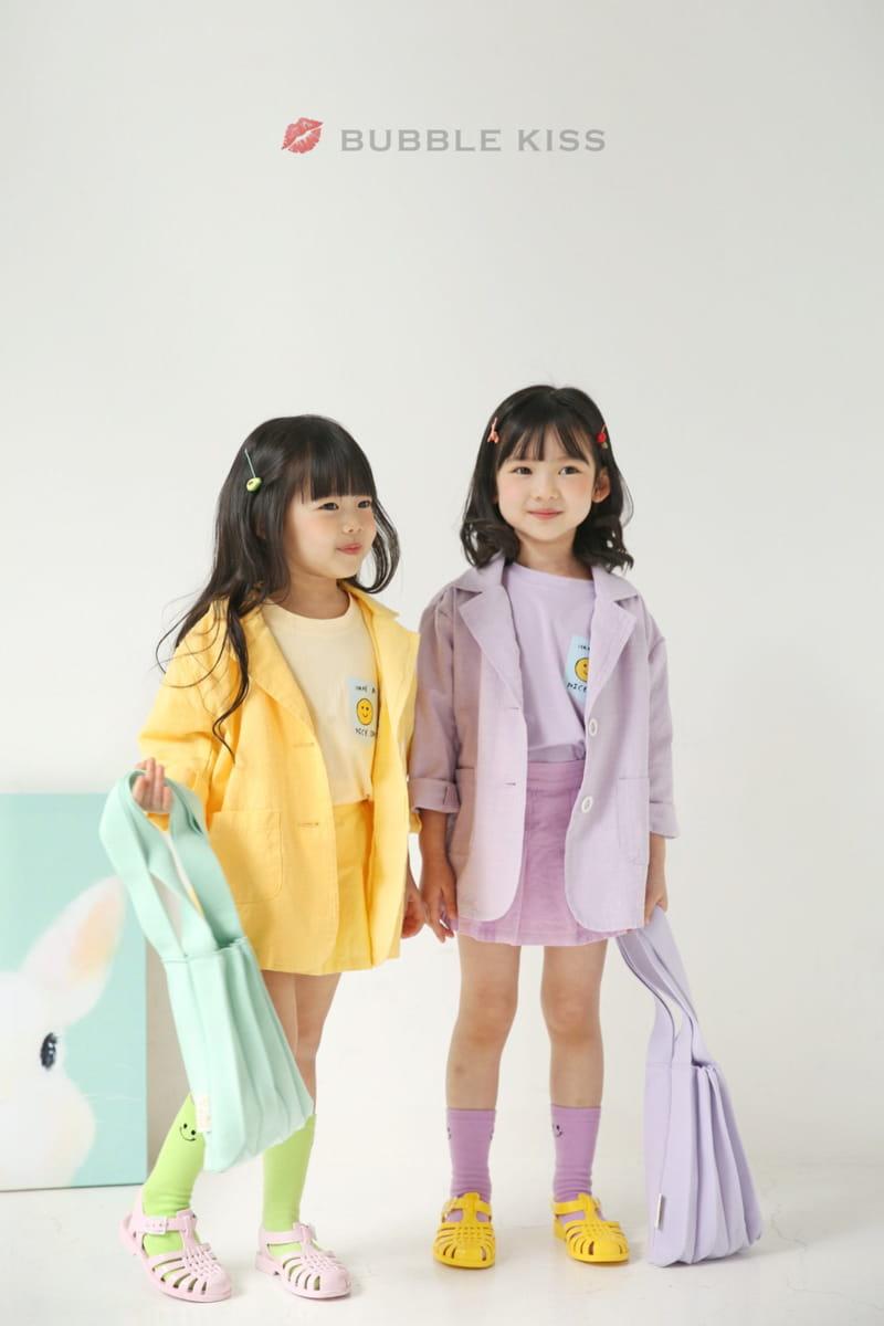 BUBBLE KISS - Korean Children Fashion - #Kfashion4kids - Teddy Bear Puff Tee - 10