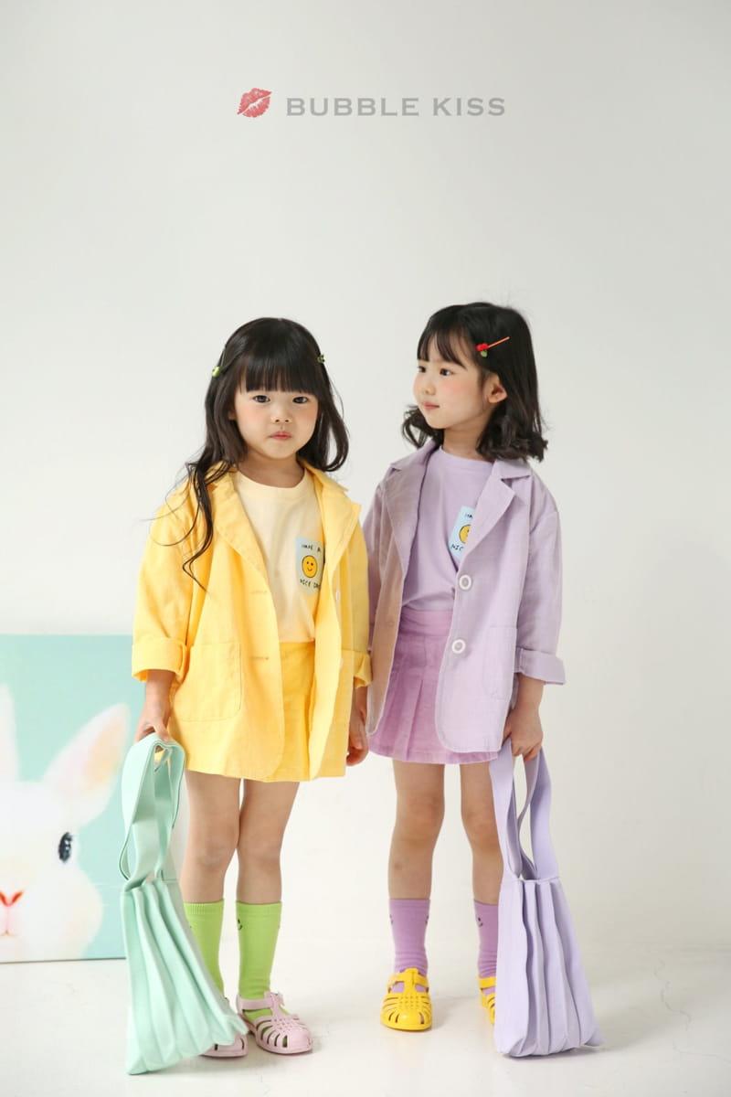 BUBBLE KISS - Korean Children Fashion - #Kfashion4kids - Teddy Bear Puff Tee - 11