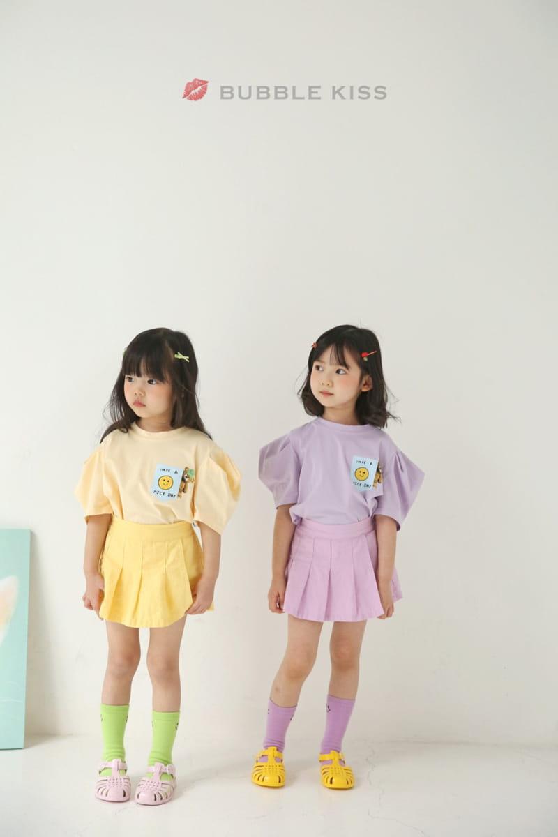 BUBBLE KISS - Korean Children Fashion - #Kfashion4kids - Teddy Bear Puff Tee - 3