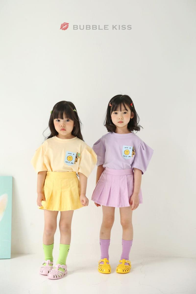 BUBBLE KISS - Korean Children Fashion - #Kfashion4kids - Teddy Bear Puff Tee - 5