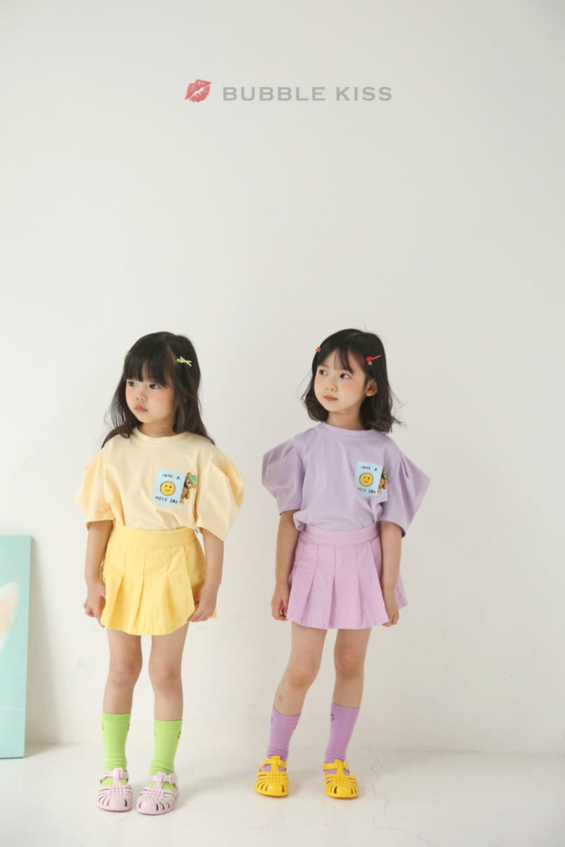 BUBBLE KISS - Korean Children Fashion - #Kfashion4kids - Accodion Linen Shorts - 3