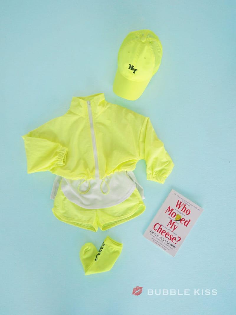 BUBBLE KISS - Korean Children Fashion - #Kfashion4kids - Neon Crop Jumper - 12