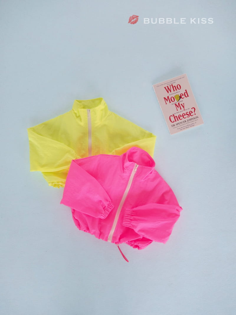 BUBBLE KISS - Korean Children Fashion - #Kfashion4kids - Neon Crop Jumper - 2