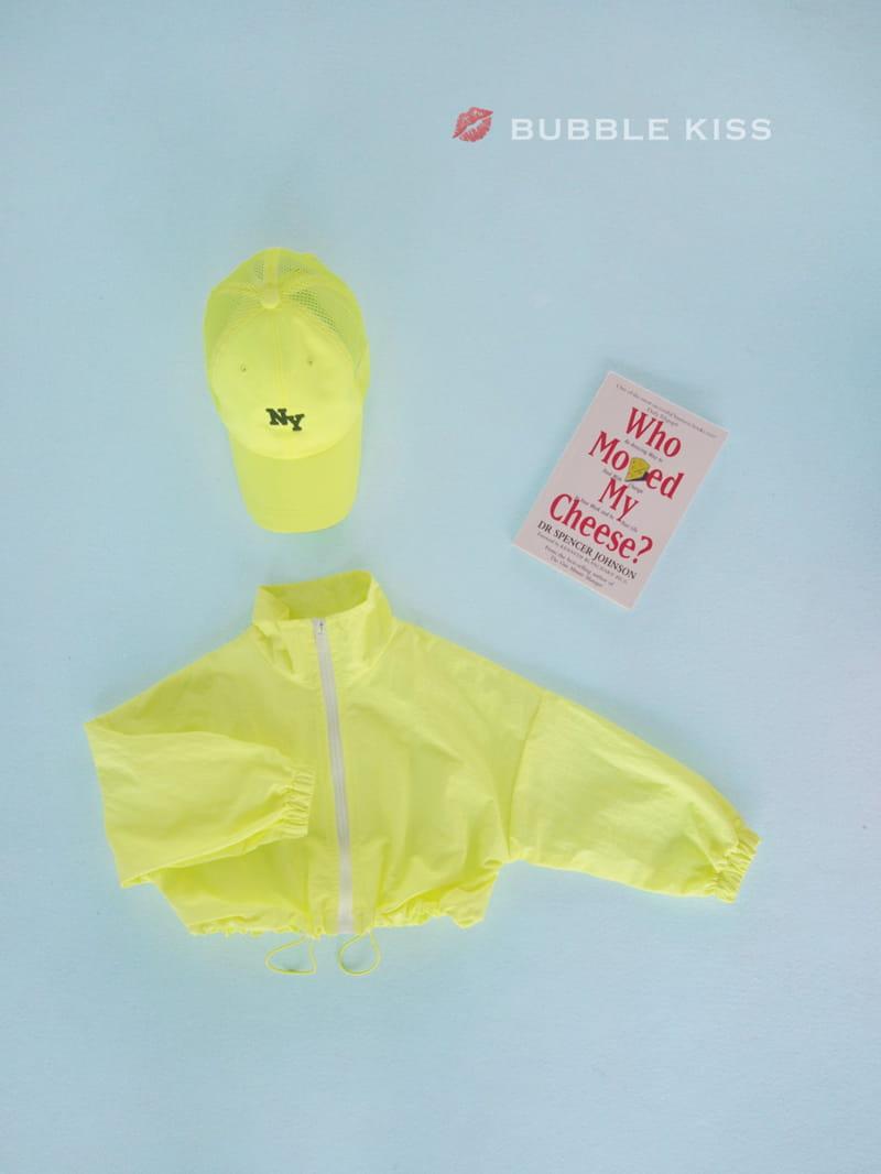 BUBBLE KISS - Korean Children Fashion - #Kfashion4kids - Neon Crop Jumper - 3