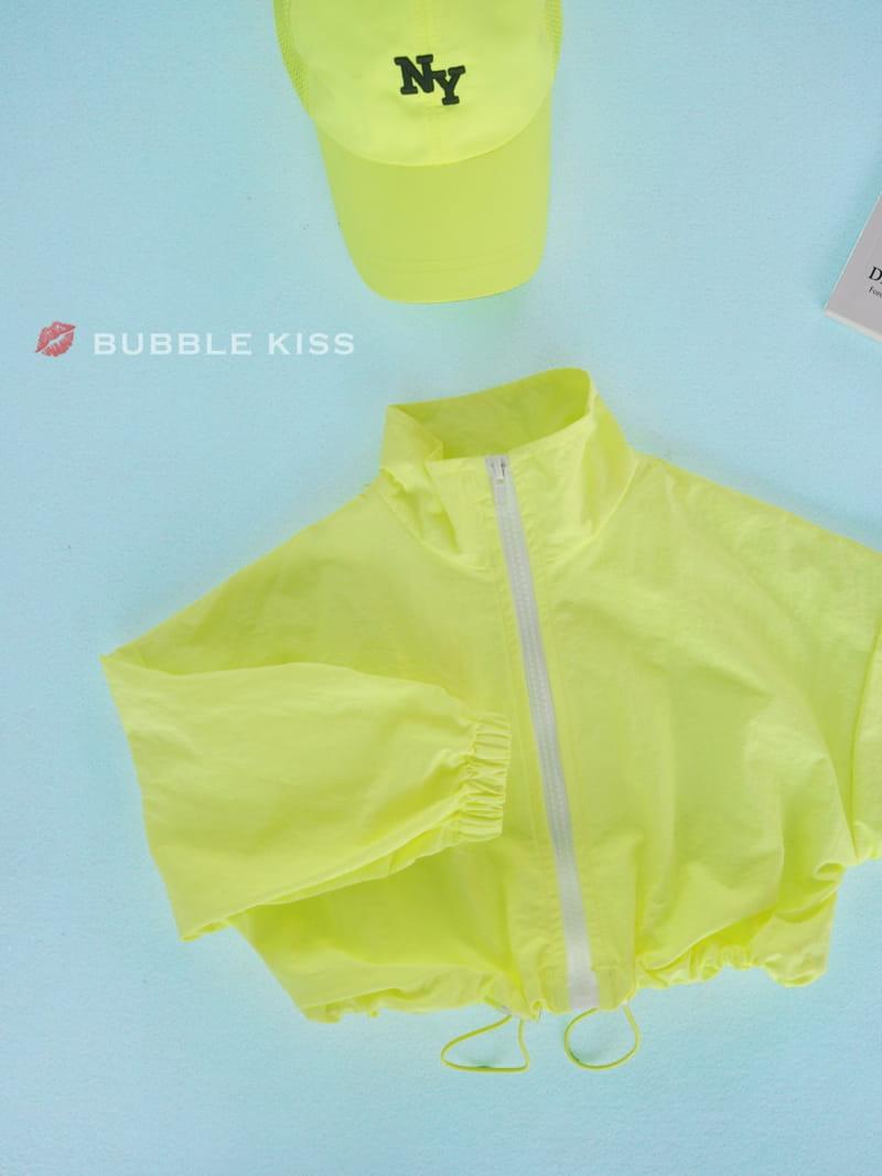 BUBBLE KISS - Korean Children Fashion - #Kfashion4kids - Neon Crop Jumper - 4