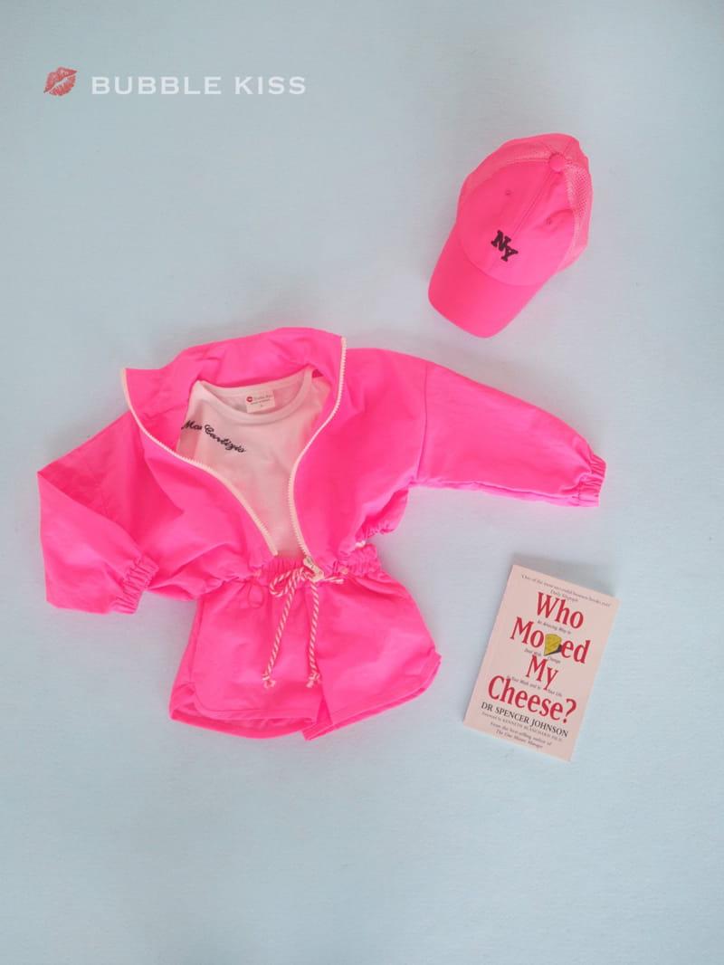 BUBBLE KISS - Korean Children Fashion - #Kfashion4kids - Neon Crop Jumper - 8
