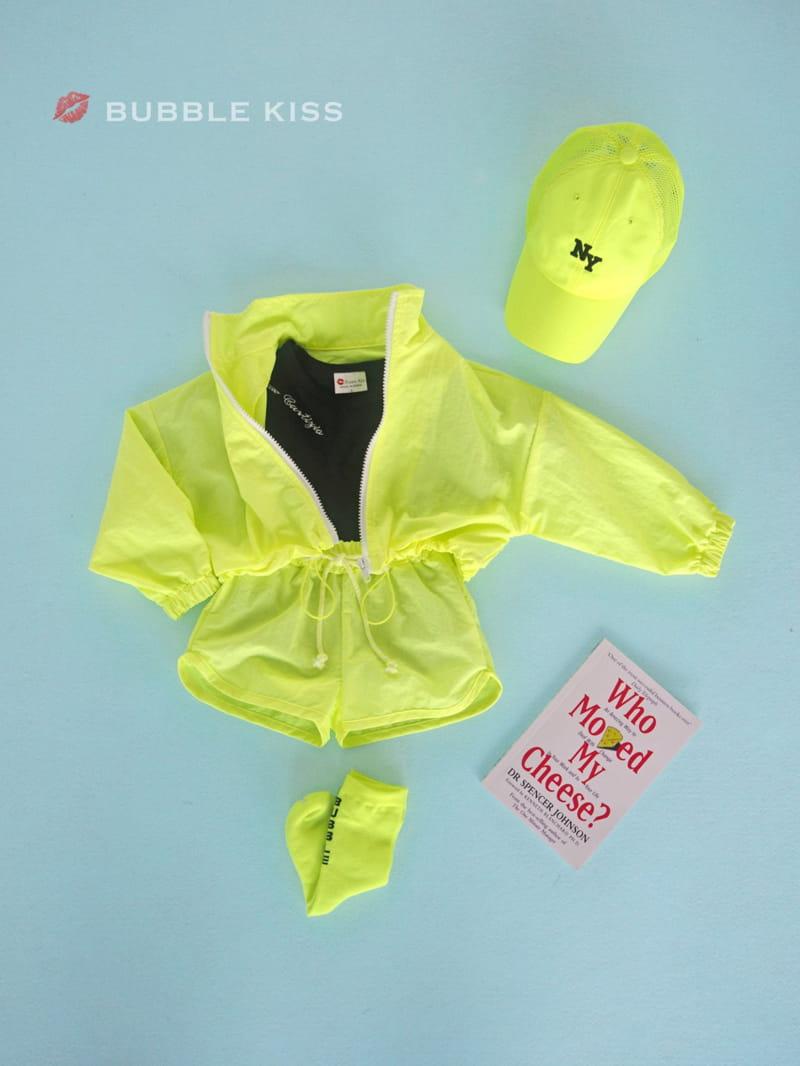 BUBBLE KISS - Korean Children Fashion - #Kfashion4kids - Neon Crop Jumper - 9