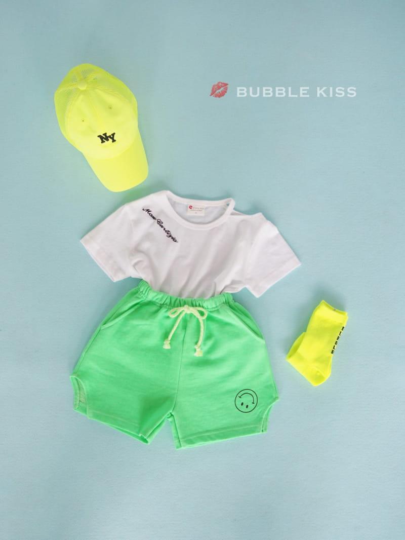 BUBBLE KISS - Korean Children Fashion - #Kfashion4kids - Lettering Choker Tee - 10