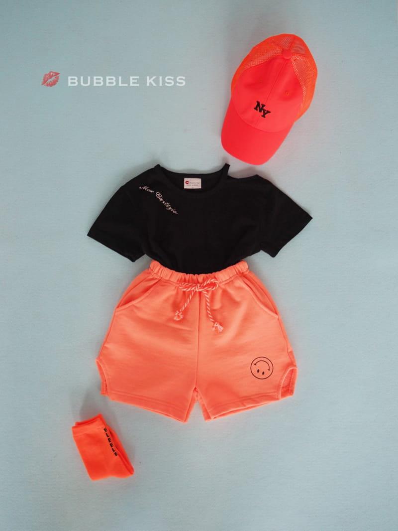 BUBBLE KISS - Korean Children Fashion - #Kfashion4kids - Lettering Choker Tee - 11