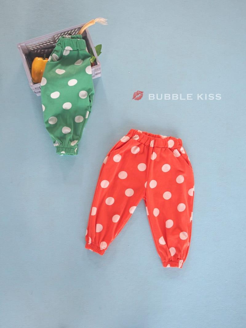 BUBBLE KISS - Korean Children Fashion - #Kfashion4kids - Dots Jogger Pants - 2