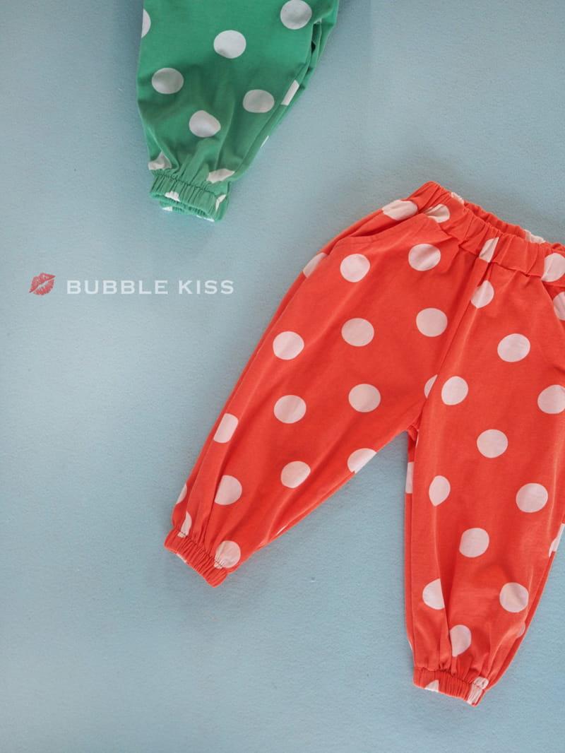 BUBBLE KISS - Korean Children Fashion - #Kfashion4kids - Dots Jogger Pants - 3