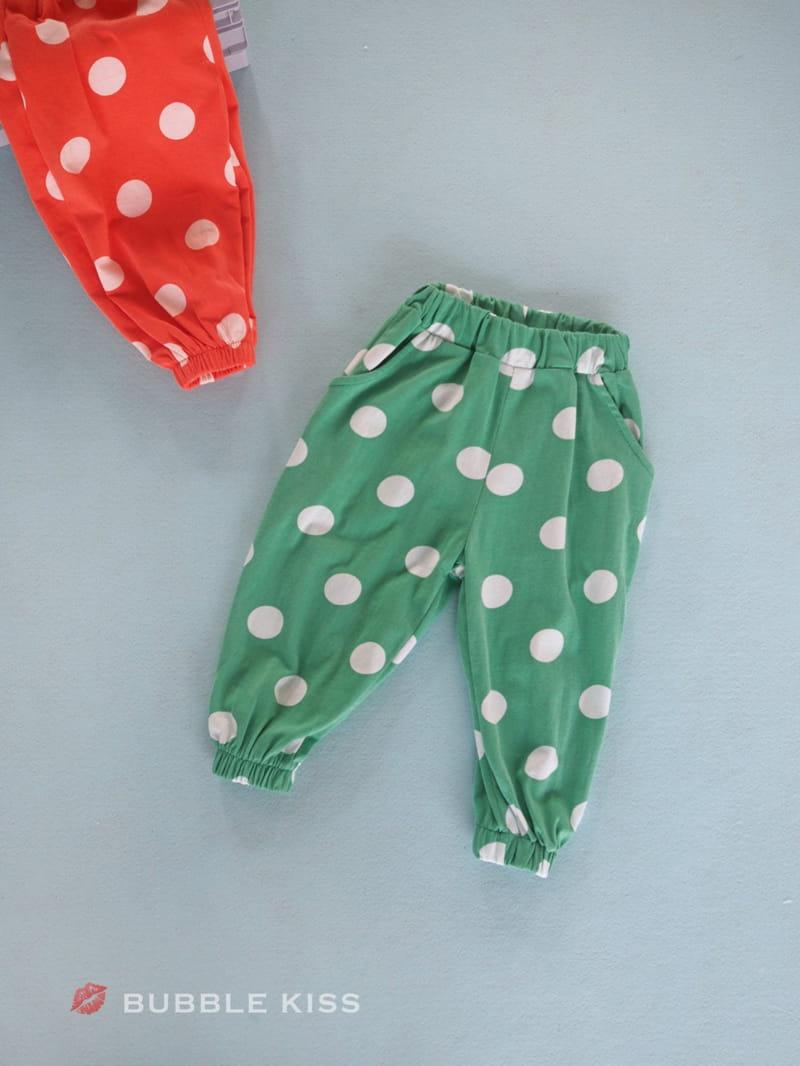 BUBBLE KISS - Korean Children Fashion - #Kfashion4kids - Dots Jogger Pants - 5