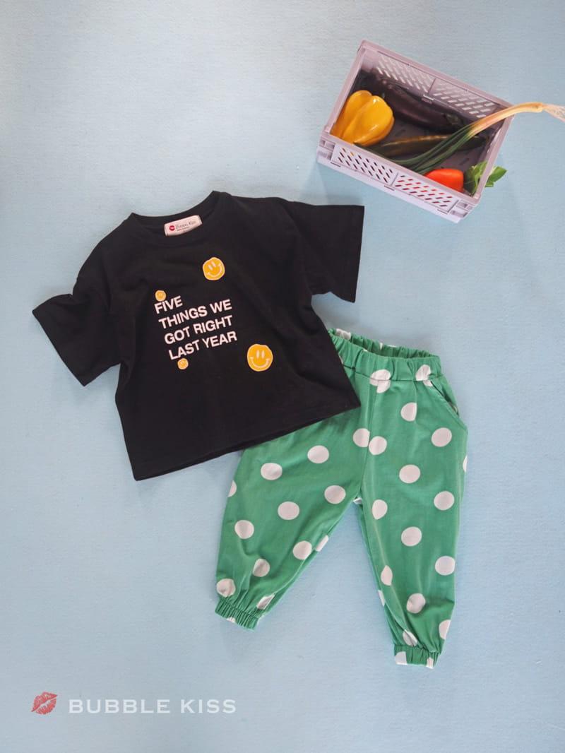 BUBBLE KISS - Korean Children Fashion - #Kfashion4kids - Dots Jogger Pants - 7