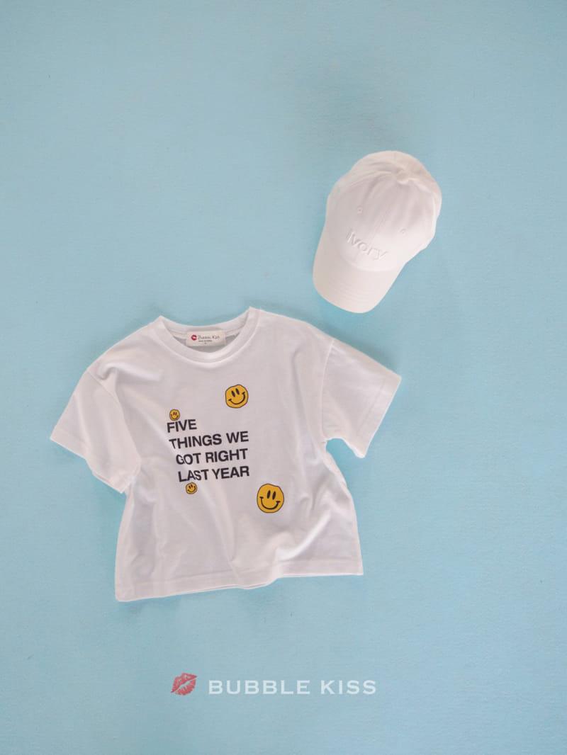 BUBBLE KISS - Korean Children Fashion - #Kfashion4kids - Five Smile Tee - 3