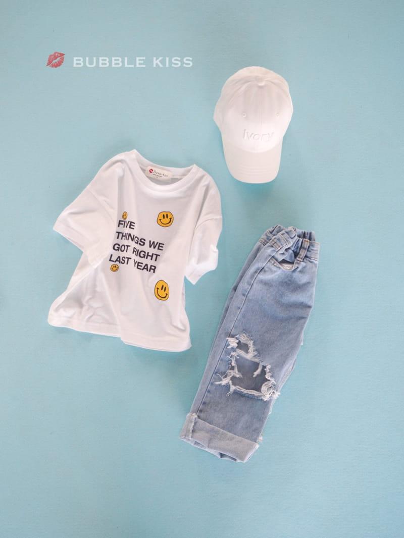 BUBBLE KISS - Korean Children Fashion - #Kfashion4kids - Five Smile Tee - 4