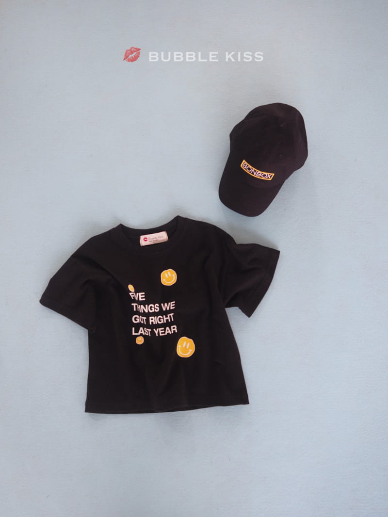 BUBBLE KISS - Korean Children Fashion - #Kfashion4kids - Five Smile Tee - 5