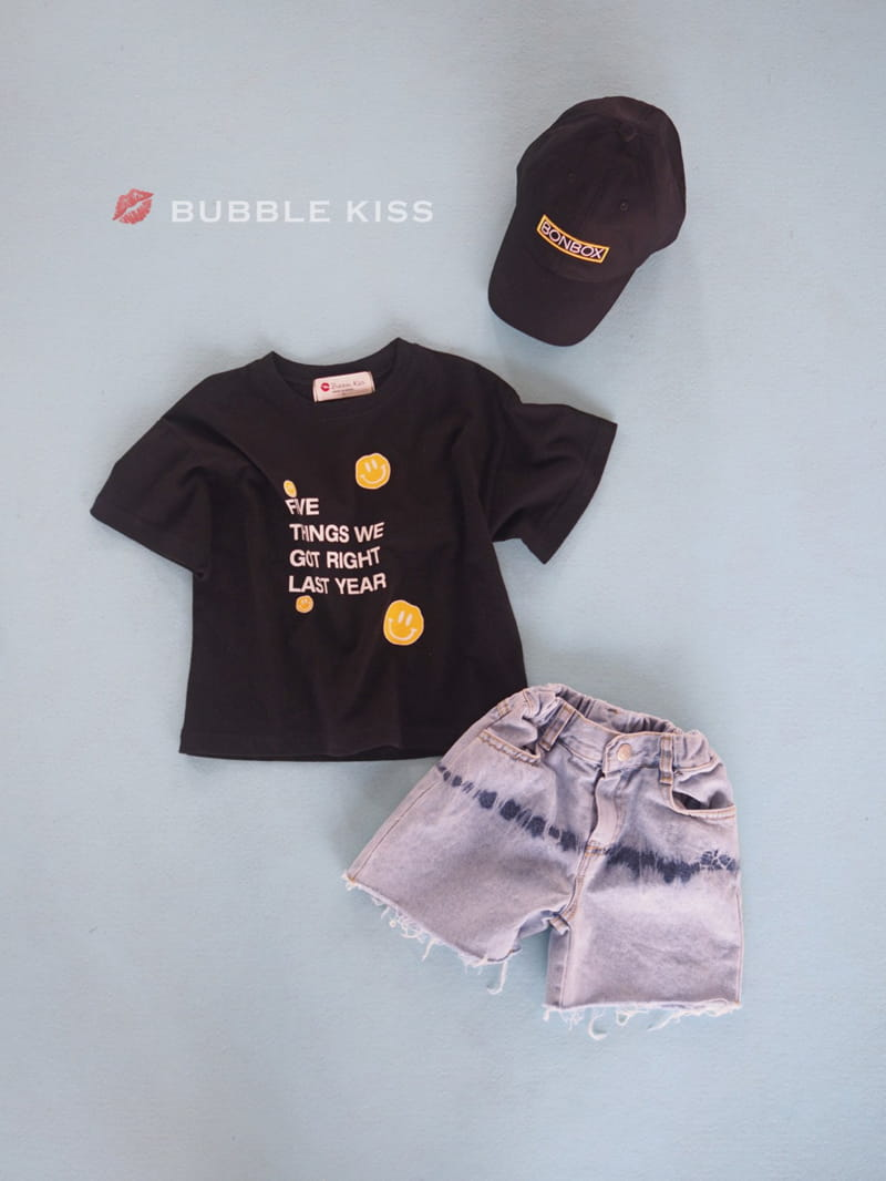 BUBBLE KISS - Korean Children Fashion - #Kfashion4kids - Five Smile Tee - 6