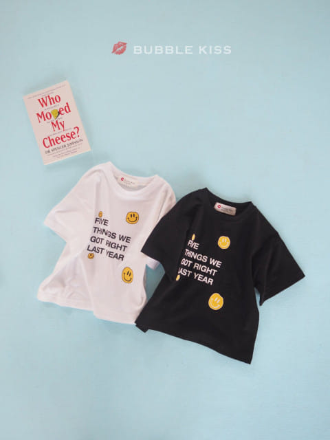 BUBBLE KISS - BRAND - Korean Children Fashion - #Kfashion4kids - Five Smile Tee