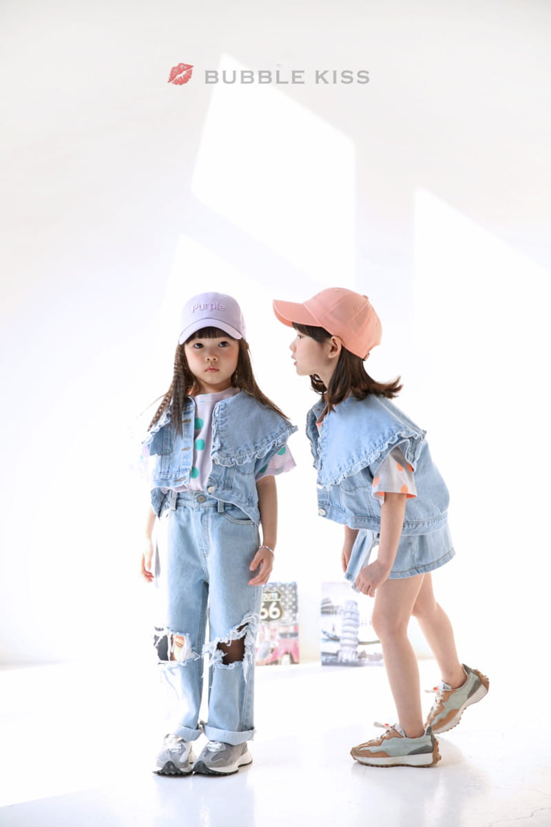BUBBLE KISS - Korean Children Fashion - #Kfashion4kids - Mopa Slit Jeans - 10