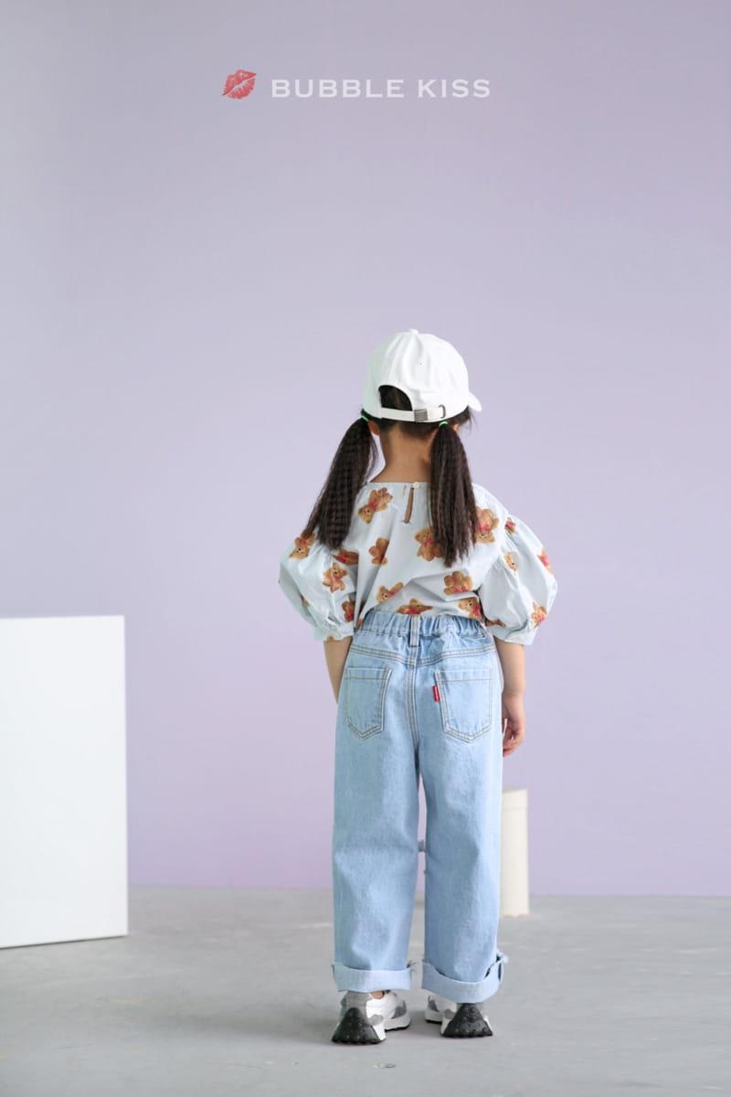 BUBBLE KISS - Korean Children Fashion - #Kfashion4kids - Mopa Slit Jeans - 5