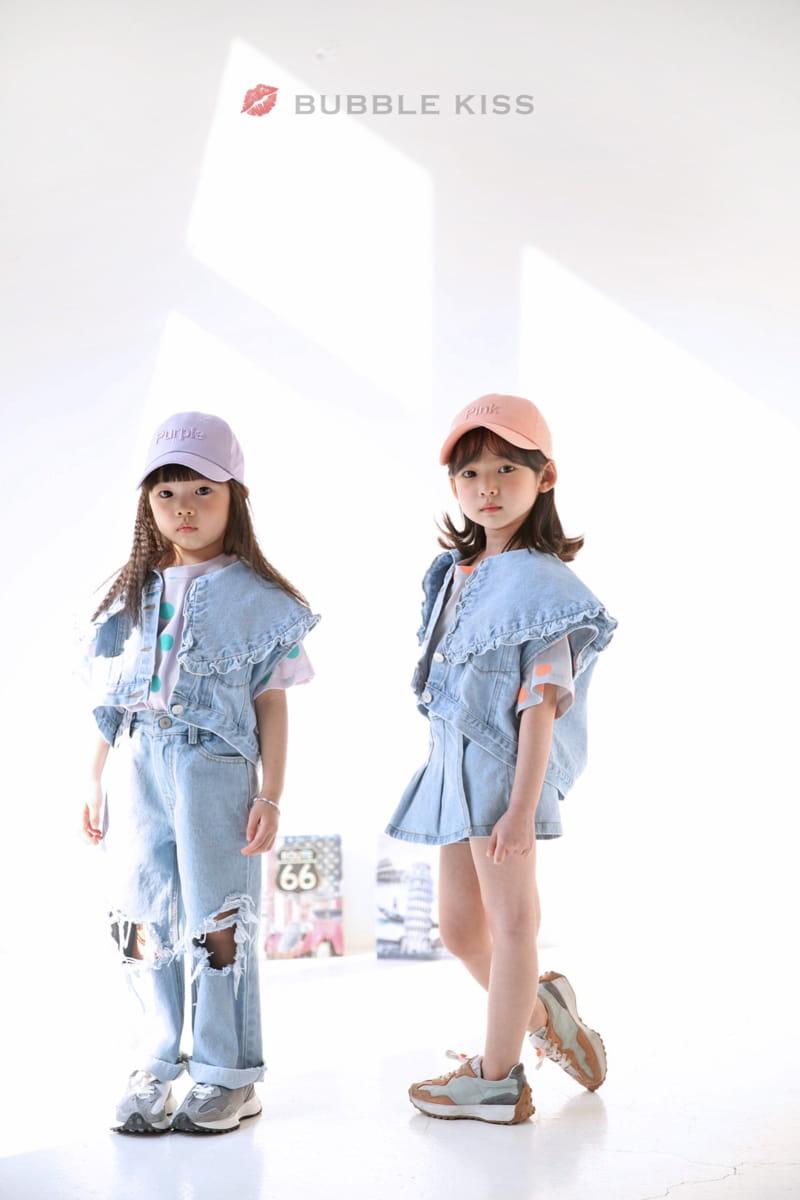 BUBBLE KISS - Korean Children Fashion - #Kfashion4kids - Mopa Slit Jeans - 8
