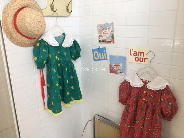 CONCOCTER - Korean Children Fashion - #Kfashion4kids - Flower Girl Boxy One-piece - 4