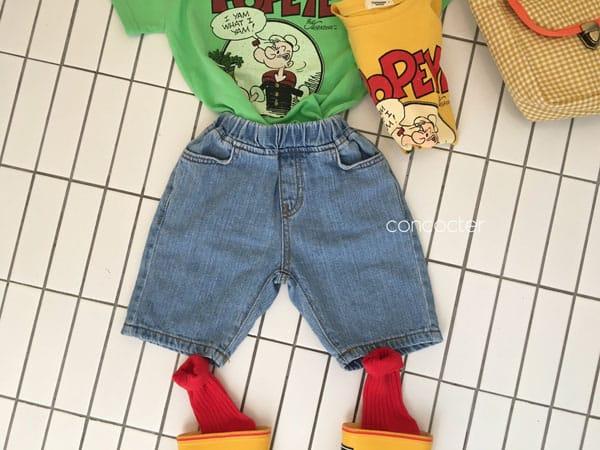 CONCOCTER - Korean Children Fashion - #Kfashion4kids - Application Capri Jean - 2