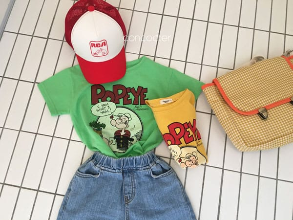 CONCOCTER - Korean Children Fashion - #Kfashion4kids - Application Capri Jean - 3