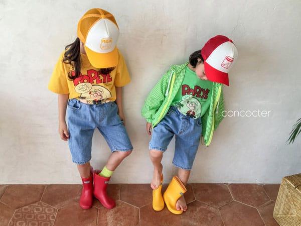 CONCOCTER - Korean Children Fashion - #Kfashion4kids - Application Capri Jean - 4