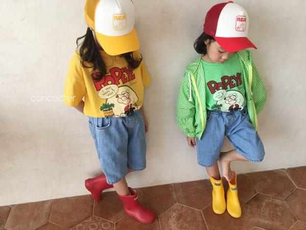 CONCOCTER - Korean Children Fashion - #Kfashion4kids - Application Capri Jean - 5