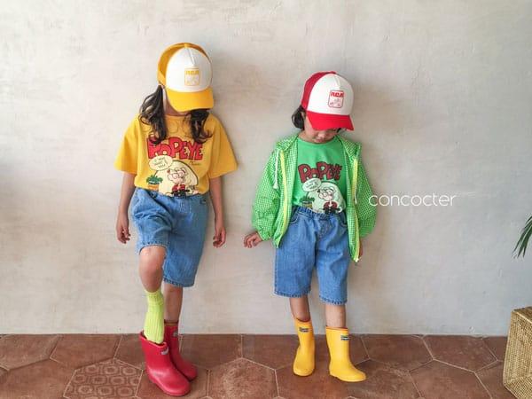 CONCOCTER - Korean Children Fashion - #Kfashion4kids - Application Capri Jean - 7