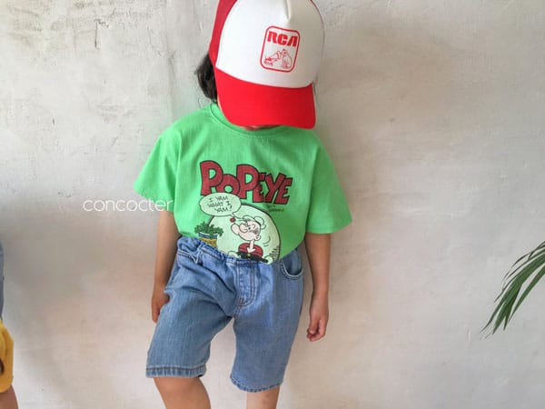 CONCOCTER - Korean Children Fashion - #Kfashion4kids - Application Capri Jean - 8