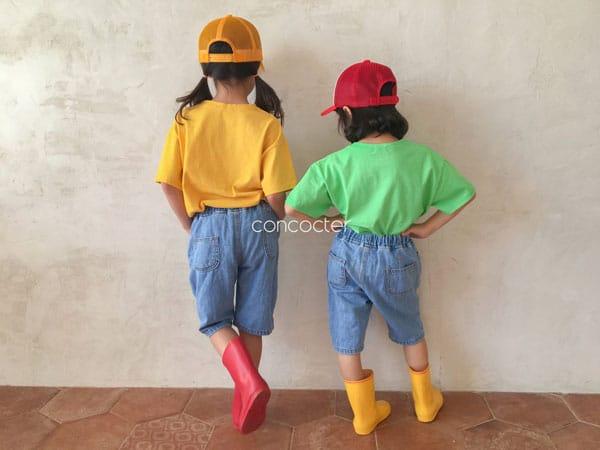 CONCOCTER - Korean Children Fashion - #Kfashion4kids - Application Capri Jean - 9