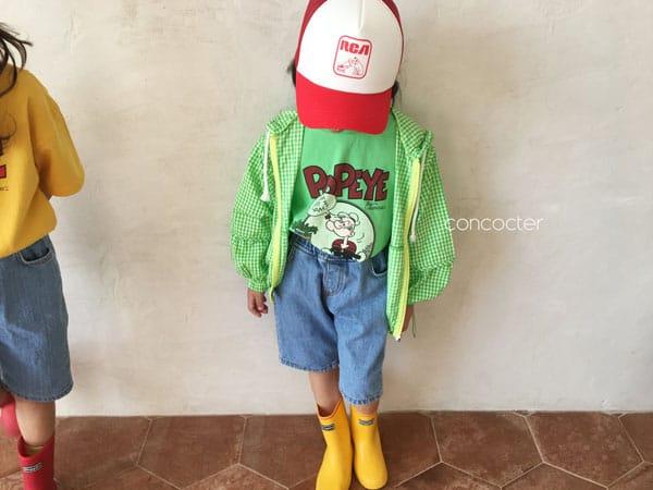 CONCOCTER - Korean Children Fashion - #Kfashion4kids - Spinach and Popeye Tee with Mom - 4