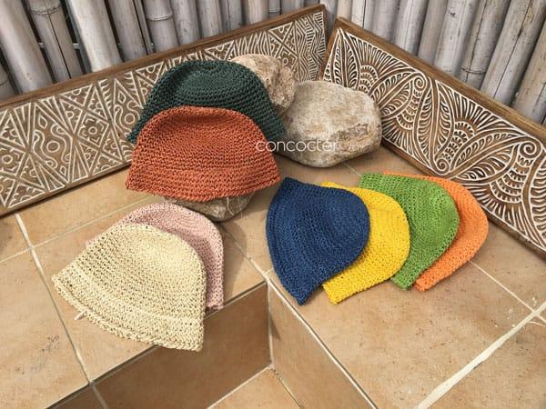 CONCOCTER - Korean Children Fashion - #Kfashion4kids - Mango Staw Bucket Hat