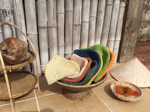 CONCOCTER - Korean Children Fashion - #Kfashion4kids - Mango Staw Bucket Hat - 3