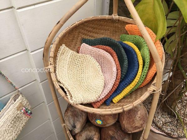 CONCOCTER - Korean Children Fashion - #Kfashion4kids - Mango Staw Bucket Hat - 4