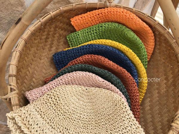CONCOCTER - Korean Children Fashion - #Kfashion4kids - Mango Staw Bucket Hat - 5